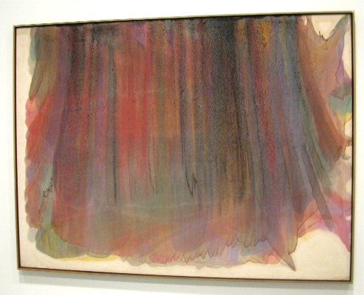 Morris Louis exhibition at the Hirshhorn