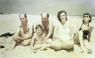 Pollock, Greenberg, Frankenthaler and Krasner at the beach