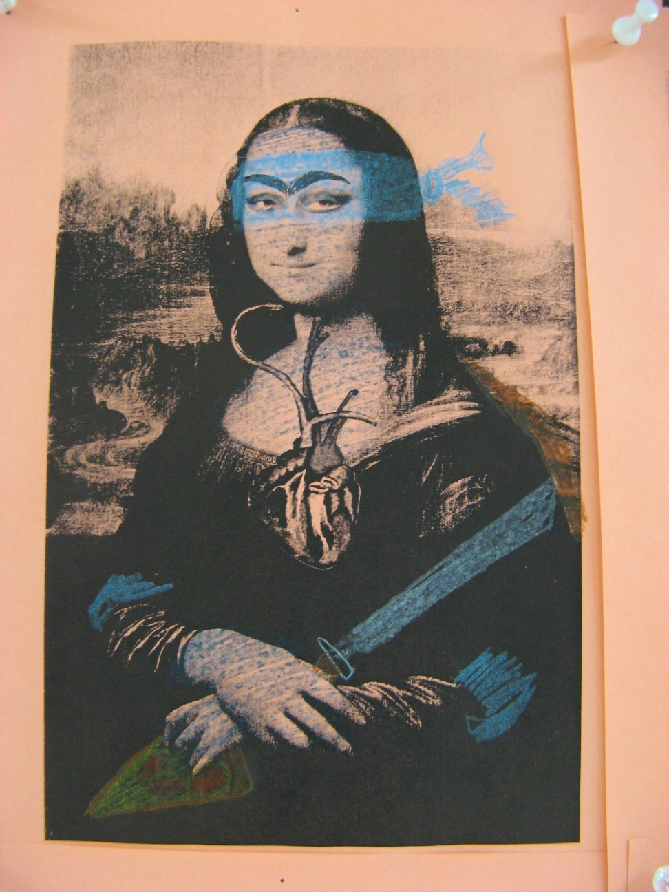 Teenage Mutant Mona Frida