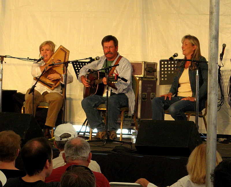 Linda Lay and company sing bluegrass