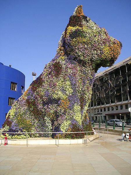Jeff Koons' Puppy