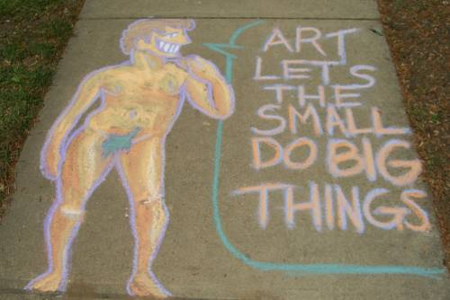 David (Sidewalk Chalk Series #12)
